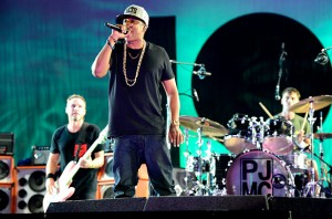 Jay-Z and Pearl Jam Have '99 Problems'