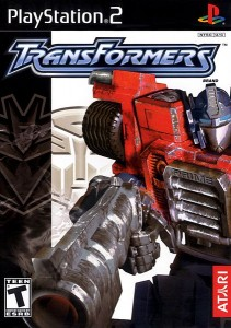 Transformers PS2 Cover