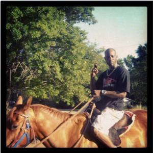 DMX on a Horse