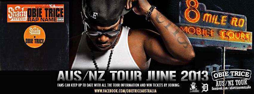 Aus Tour 2013