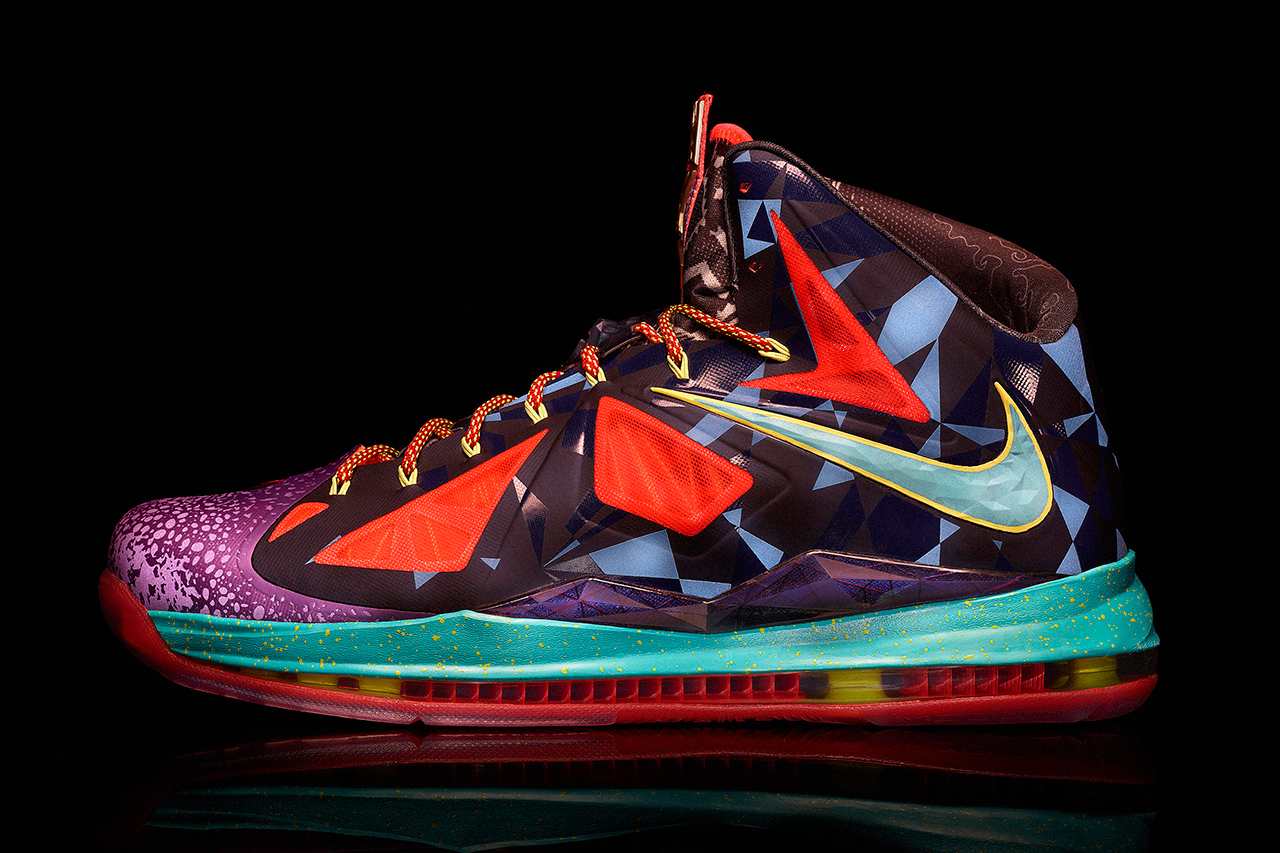 Lebron 10 Colorways Nike release special lebron x