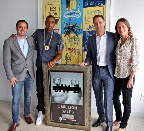 MCHG Platinum Plaque