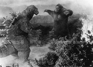Godzilla v King Kong