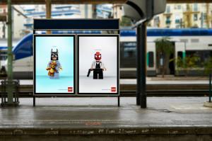 Superheroes Lego slide