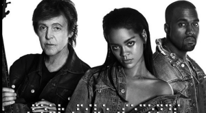 Rihanna Kanye West Paul McCartney