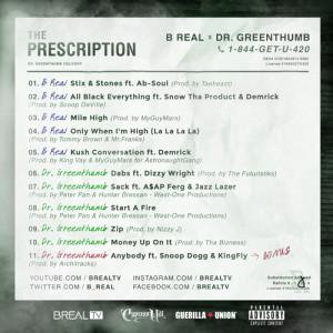 Mixtape B real list