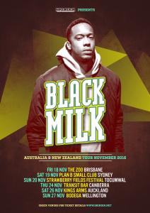 Black Milk tour
