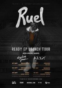 Ruel tour